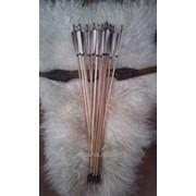 Стрелы деревянные для стрельбы из лука / арбалетные болты фото