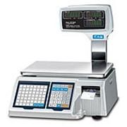 Весы с печатью этикеток CAS LP-II-06 фото