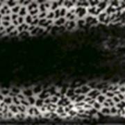 Трафаретное крашение меха фото