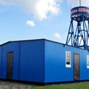 Модульные здания из вагон-бытовки фото