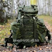 Рюкзак рейдовый (60л+ 20л) с чехлом маскирующим ту 858-5899-2006 фото