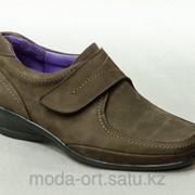 Туфли демисезонные Комфорт 7272 оливковый фото
