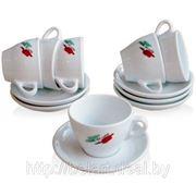 Посуда с логотипом, нанесение логотипов на посуду, печать на посуде фото