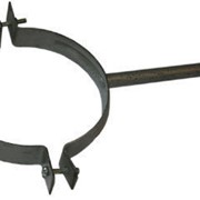 Охват для труб с креплением d=100 с порошковой покраской по RAL фото