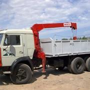 Услуги грузового автомобиля КАМАЗ 53215 с краном-манипулятором фото
