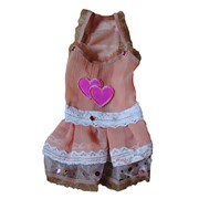 Платье для собаки розовое фото