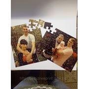 Пазлы с полноцветной печать формат А4 фото