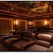 Строительство персональных кинозалов под ключ фото