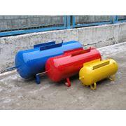 Ресивер воздушный для пневмосистем объемом от 35 л. до 900 л. давление до 10 атм. фото