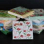 Салфетки бумажные 3-сл 33*33 ALMAX Exclusive ТЮЛЬПАНЫ (20листов/уп) (12уп/кор) фото