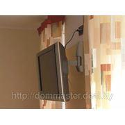 Навеска ЖК-телевизоров, мебели, сушилок для белья, и т. д. фотография