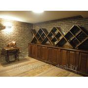 Винотека площадью 76 м2 в цокольном этаже дома, 2012 г фото