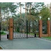 Решетчатые ворота фото