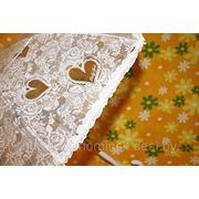 Прозрачный зонт. Зонт для невесты. фото