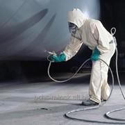 Огнезащитная обработка воздуховодов фото