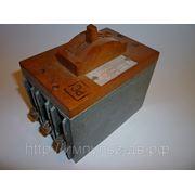Выключатель автоматический АК50Б-3МГ ОМ3 380v 50hz 50А фото