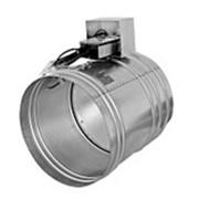 Клапан противопожарный для систем вентиляции зданий КЛОП-1 фото