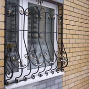 Решетки на окна кованные из металла фото