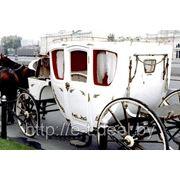 Карета. Аренда кареты в Минске для свадьбы и корпоративов фото