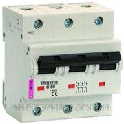 Автоматические выключатели ETIMAT 10AC 80А 3p фото