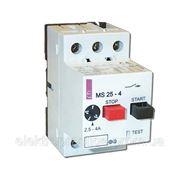 Автоматические выключатели защиты двигателей MS25 - 0,16 фото