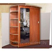 Шкаф купе прихожая с зеркалом и полками прихожие,встроенная мебель фото