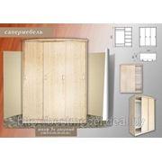 Шкаф купе трехдверный СШ 010.09,прихожая,встроенная мебель фото