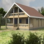 Строительство домов и бань из клееного и комбинированного бруса по индивидуальным проектам