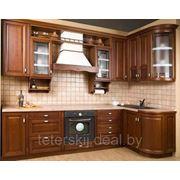 Кухня массив ольхи фото