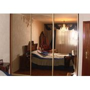 Зеркальный шкаф фото