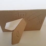 Фото рамка мини с ножкой для творчества, вышивки, декупажа фото