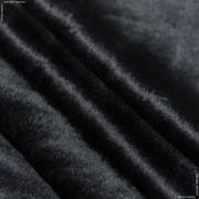 Мех К/1 ВЕЛЮР №10/0 ЧЕРНЫЙ 450гр/м фото