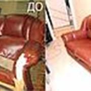 Перетяжка диванов фото