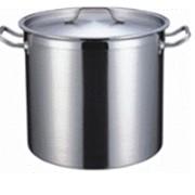 Котел 50 литров, 40х40 см, нержавеющая сталь фото