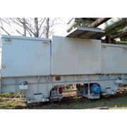 Вагонотолкатель электрический ВТЭ для подачи и установки железнодорожных полувагонов в стационарные вагоноорокидыватели при разгрузке составов на участках промышленных железных дорог имеет дистанционное управление с пульта вагоноопрокидывателя. фото