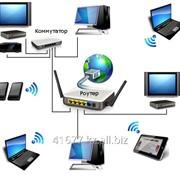 Обслуживание СКС (Wi-Fi, power line, lan) фото