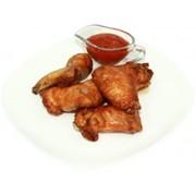 Доставка горячих блюд - Крылышки Хрустящие 250/80 гр. фото