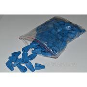 Изолирующий колпачок ( синий цвет) для RJ45 фото