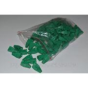 Изолирующий колпачок ( зеленый цвет) для RJ45 фото
