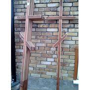 Ритуальные кресты из сосны фото