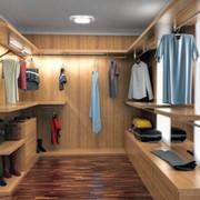 Современные гардеробные комнаты. фото