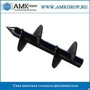 Свая винтовая стальная двухлопастная СВС-2Л 57мм фото