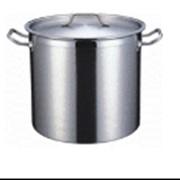 Котел 21 литр, 30х30 см, нержавеющая сталь фото
