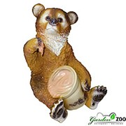 Фигура Медведь с бочонком фото