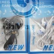 Наушники Mp3 Stereo earphones черный фото