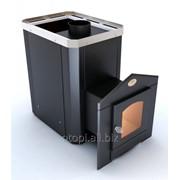 Дровяная печь для бани Новаслав Классик ПКС - 02 (Дверца с термостойким стеклом) фото