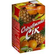 Сок Мультифрут, ТМ Настоящий сок фото
