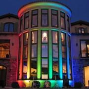 Оформление зданий использование светодиодов в оформлении зданий и сооружений фото
