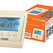 Термостат для теплых полов электронный ТТПЭ-1 16А 250В с датчиком 3м сл. костьTDM фото