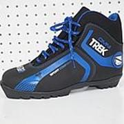 Ботинки лыжные Trek Omni SNS New (Черный лого синий, 36, 3.11-01) фото